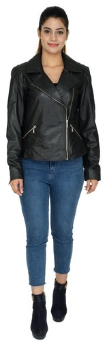 WOMEN BIKER LEATHER