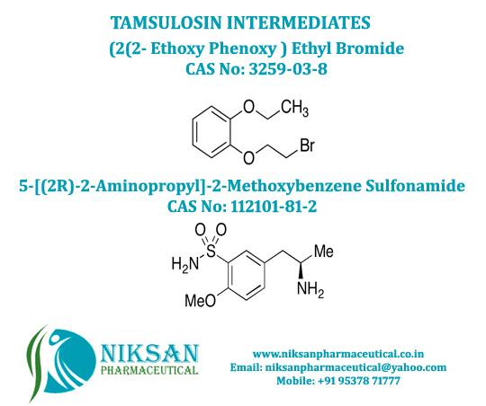 TAMSULOSIN INTERMEDIATES