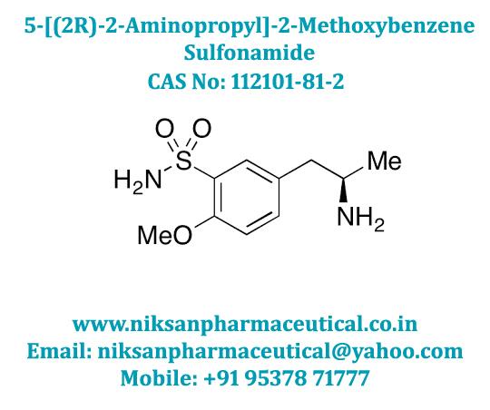 5-((2R)-2-AMINOPROPYL)-2-METHOXYBENZENE SULFONAMIDE