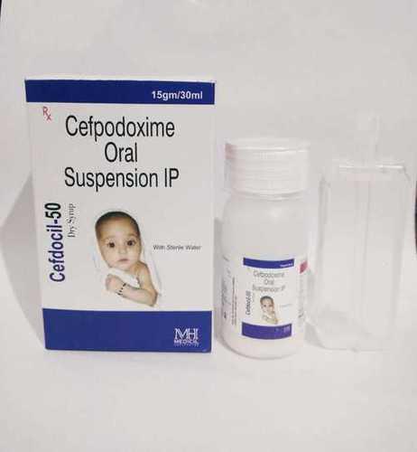 Cefpodoxime Oral susp. 50 mg Dry Syp