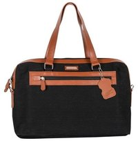 CANVAS LAPTOP BAG BLACK