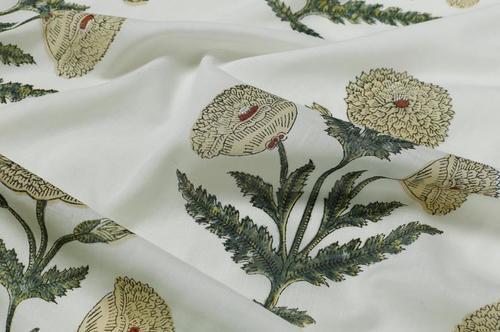 Mughal Butta Print Fabric