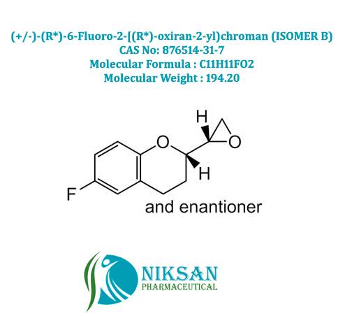 (2R)-rel-6-Fluoro-3,4-dihydro-2-(2R)-2-oxiranyl-2H-1-benzopyran