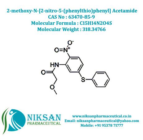 2-methoxy-N-[2-nitro-5-(phenylthio)phenyl]Acetamid