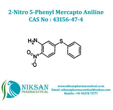2-Nitro 5-Phenyl Mercapto Aniline
