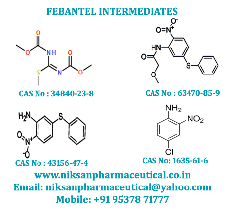 FEBANTEL INTERMEDIATES