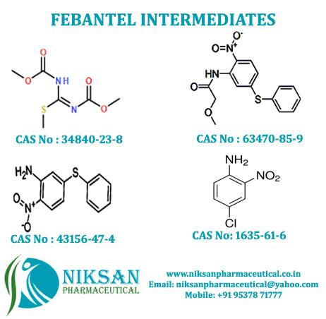 FEBANTEL INTERMEDIATES