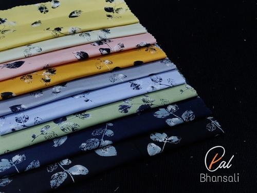PAL by Bhanshali Printed Shirting Fabric