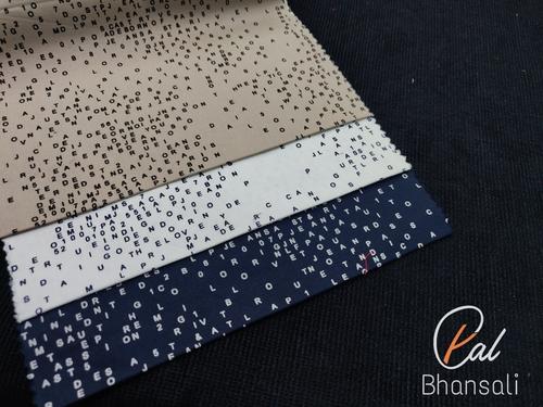 Twill Lycra Printed Fabric