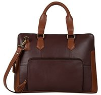 LAPTOP BAG  BROWN