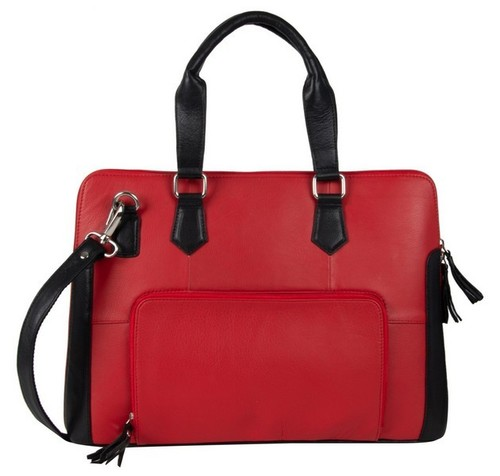 LAPTOP BAG RED & BLACK