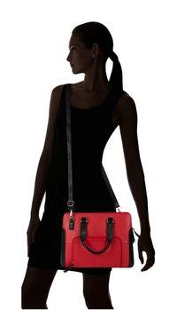 LAPTOP BAG RED & BLACK
