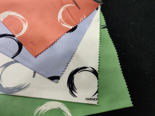 Cotton Printed Lycra Fabric