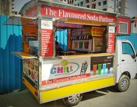 Mobile Soda Machine on Tata Ace Tempo.