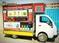 Mobile Soda Machine on Tata Ace Tempo.