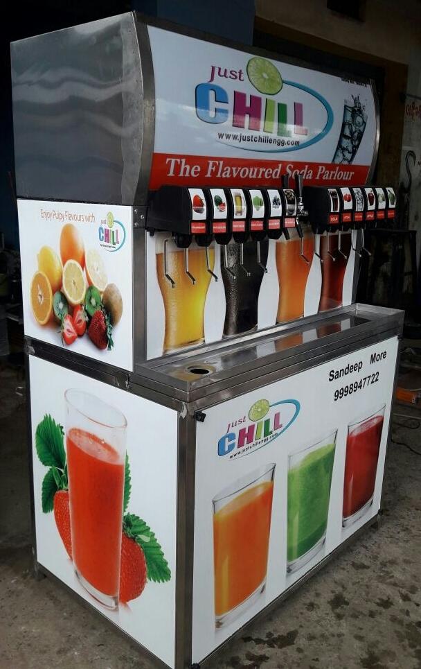 14 Flavour Soda Machine