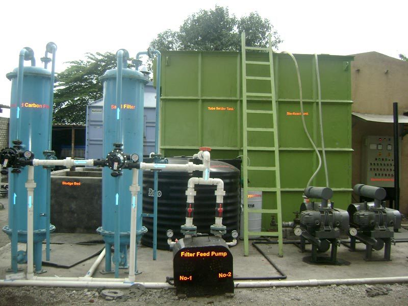 Sewage Treatment Plant Installation Services
