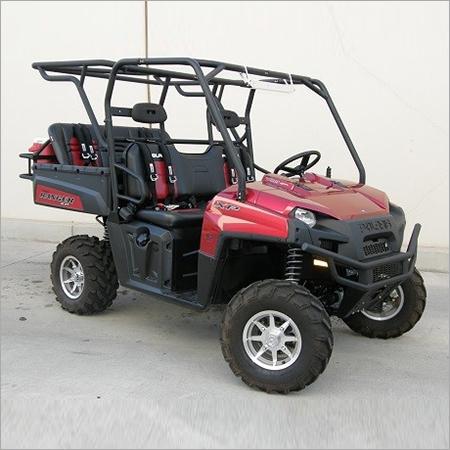 4 x 4 Lifted Golf Cart