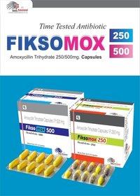 AMOXYCILLIN 500 MG +Lactic Acid Bacillus 2.5 Million Spores