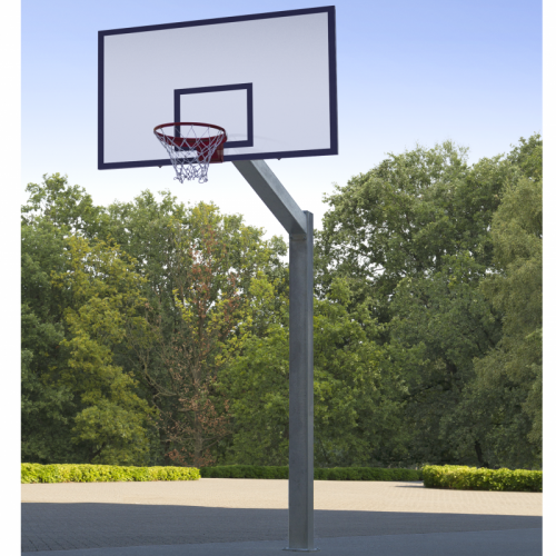 Fixed Basket Ball Pole