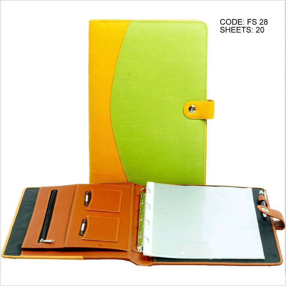 PU Leather Executive File Folder