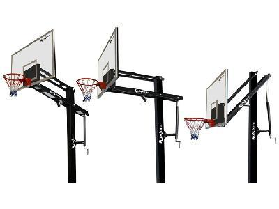 Height Adjustable Basket Ball Pole