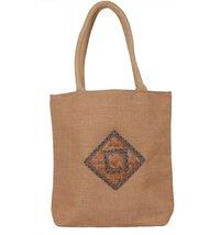 Cane Hand Jute Bag