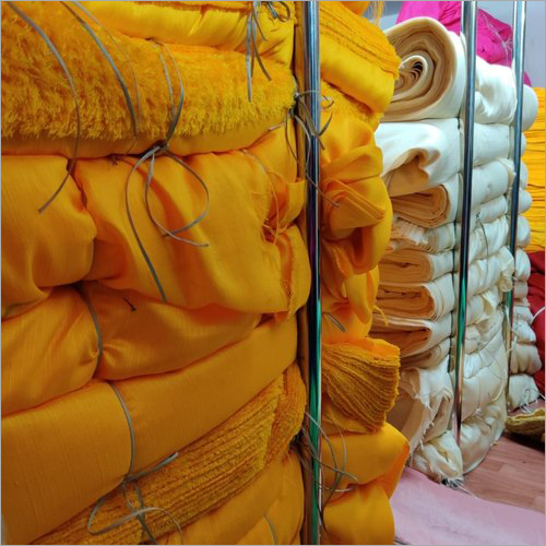 Malbari Plain Silk Fabric