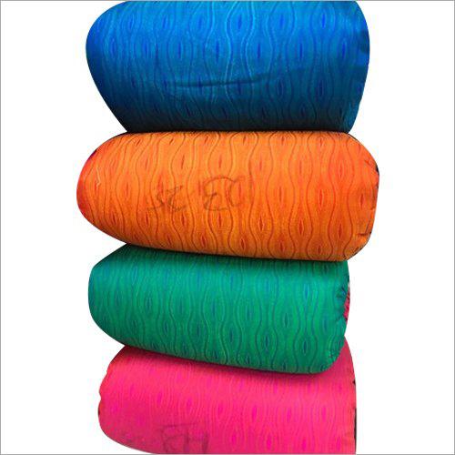 Jacquard Silk Printed Fabric