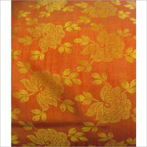 Printed Satin Jacquard Fabric