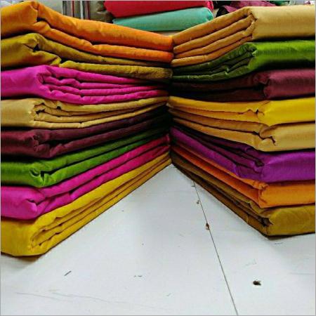 Plain Dhupion Silk Fabric