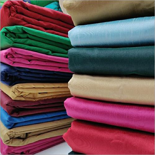 Dhupian Plain Polyester Silk Fabric