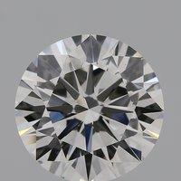 CVD Diamond 2.01ct G VVS2 Round Brilliant Cut IGI Certified Stone