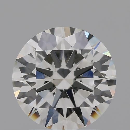 CVD Diamond 1.53ct G VVS2 Round Brilliant Cut IGI Certified Stone