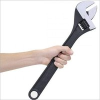 Adjustable Wrench Chrome Plated