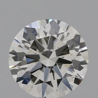 CVD Diamond 1.58ct I VS1 Round Brilliant Cut IGI Certified Stone