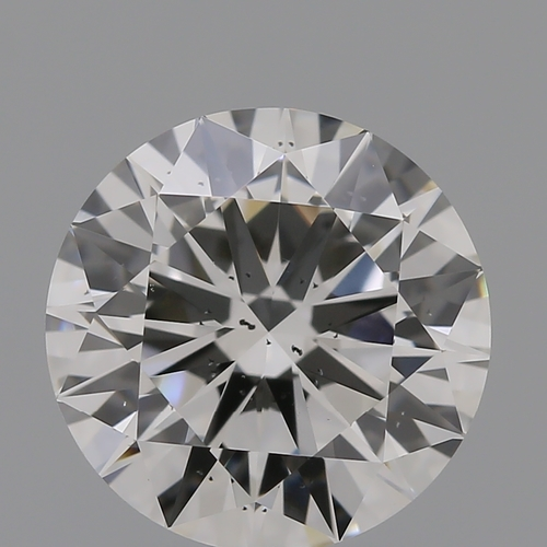 CVD Diamond 2.01ct I SI1 Round Brilliant Cut IGI Certified Stone