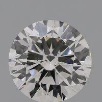 CVD Diamond 2.01ct I SI1 Round Brilliant Cut IGI Certified Stone