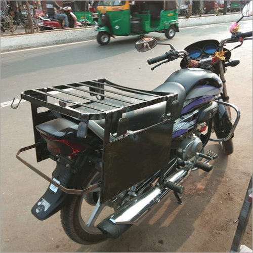Two Wheeler Milk Can Metal Carrier