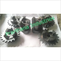 Industrial Spiral Jaw Clutch Coupling