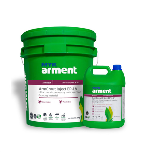ArmGrout Inject EP-LV Epoxy Resin Injection Grouting