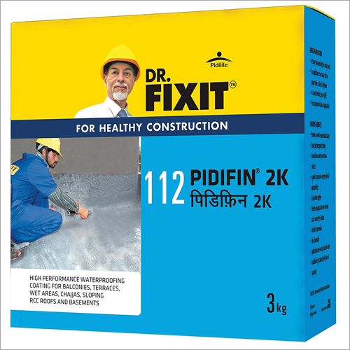 Dr. Fixit PIDIFIN 2K Waterproofing Coating