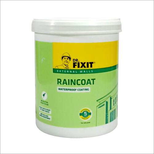 Dr. Fixit External Walls RainCoat Waterproof Coating