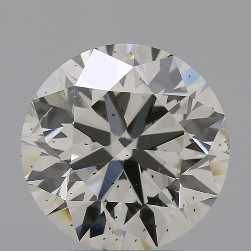 CVD Diamond 2.11ct J SI1 Round Brilliant Cut IGI Certified Stone