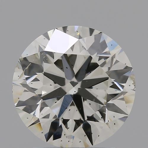 CVD Diamond 2.11ct J SI1 Round Brilliant Cut IGI Certified Stone