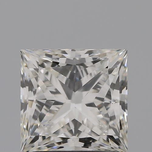 CVD Diamond 1.76ct H VVS2 Princess Shape IGI Certified Stone