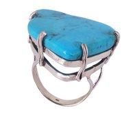 Turquoise 925 Silver Gemstone Ring