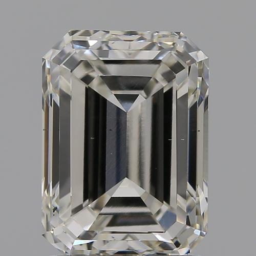 CVD Diamond 2.00ct  H VS2 Emerald Shape IGI Certified Stone