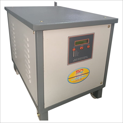 Single Phase Servo Voltage Stabilizer (7.5 KVA- 20 KVA)