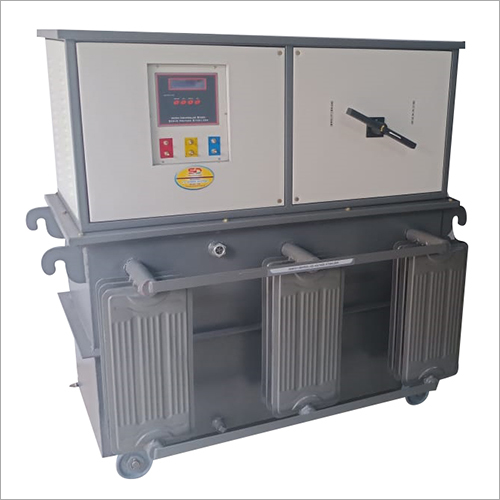 Three Phase Oil Cooled Servo Voltage Stabilizer ( Above 100 KVA)